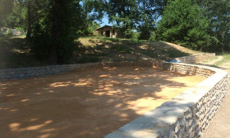 Aménagement terrain de pétanque Nîmes