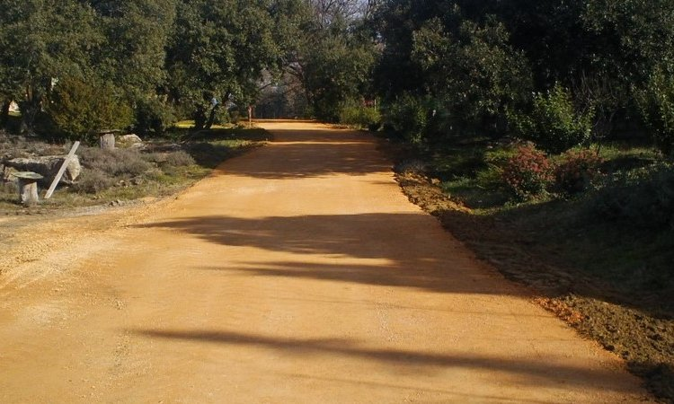 Création allée Nîmes